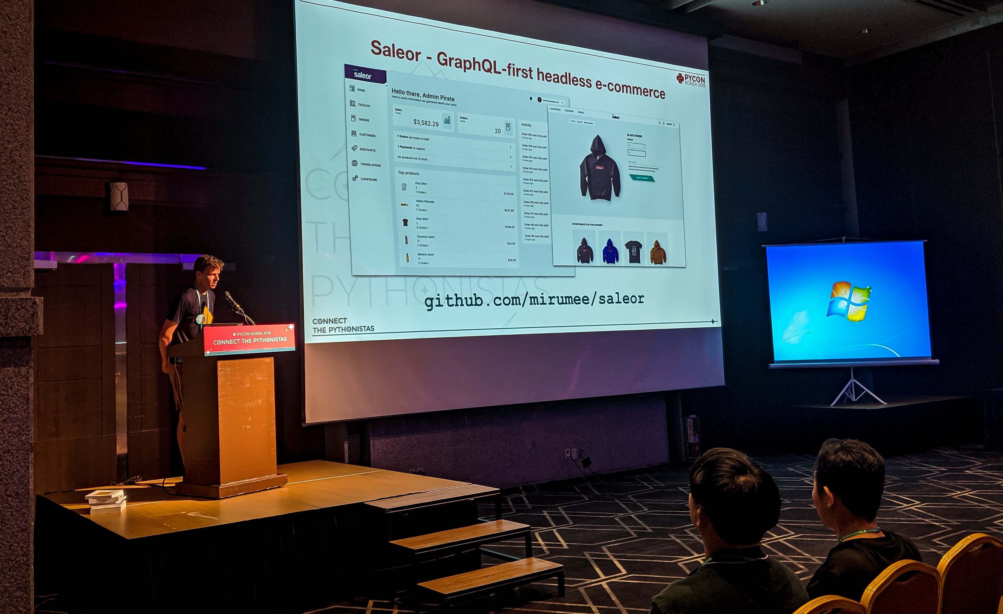 Saleor at Pucon Korea 2019