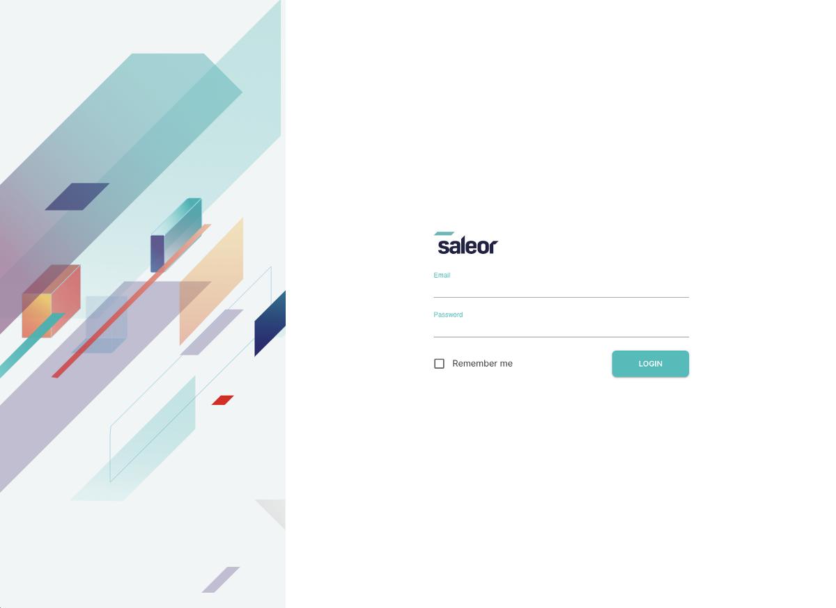 Login screen in Dashboard 2.0